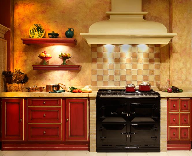 Ejemplos de cocinas r sticas - Azulejos rusticos para cocinas ...