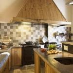 cocinas rústicas madera