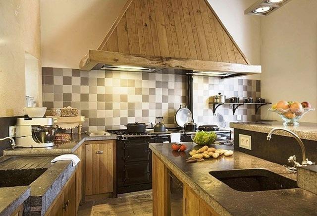 Cocinas r sticas madera - Cocinas rusticas de mamposteria ...