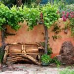 jardin rustico ejemplo