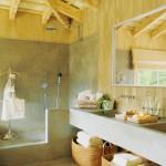 baños rusticos detalles