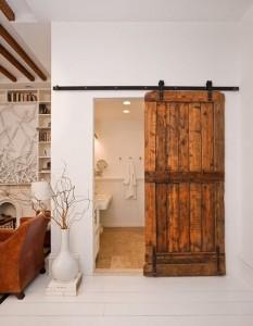 detalles rusticos para baños